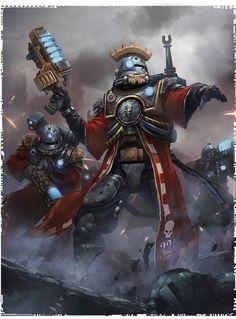 mk2501: Warhammer 40K - Adeptus Mechanicus - Skitarii