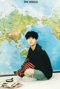 Yoongi | Black hair