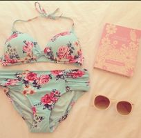 exact floral bathing suit