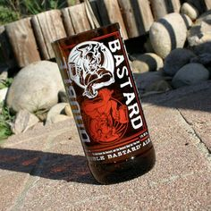 16 ounce Double Bastard drinking glass made from recycled Stone Brewing Beer Bottle by pic76, $15.00