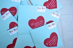 paper{whites}: our valentines cards.