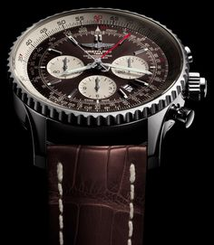 Breitling presents a new member of the famed Breitling Navitimer collection with a in-house-made Caliber B03 automatic split-second chronograph. Learn about the new Breitling Navitimer Rattrapante on our site...