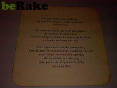 """http://lyado.berake.com - Vendo Posavasos san miguel """"en la disco""""..."""