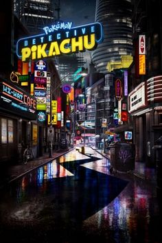 Directed by Rob Letterman. With Ryan Reynolds, Suki Waterhouse, Bill Nighy, Kathryn Newton. In a world where people collect Pokémon to do battle, a boy comes across an intelligent talking Pikachu who seeks to be a detective. Pikachu Pikachu, O Pokemon, Pikachu Memes, Pokemon Movies, Kathryn Newton, Ryan Reynolds, Streaming Vf, Streaming Movies, Wallpaper Pokémon