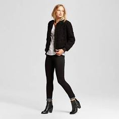 Women's Teddy Bear Bomber Jacket - Who What Wear ™ : Target