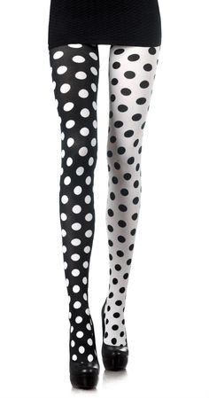 EMILIO CAVALLINI TO ZOHARA polka dot tights. ~ETS