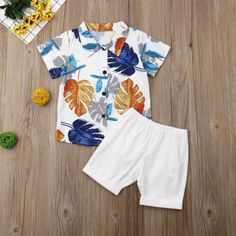 Nautica Baby Girl Navy Blue Glitter Floral Print Polo Shirt Dress /& Bottoms Set