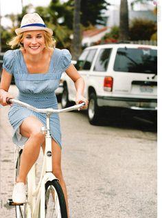 #bucket list, cruiser bike on a Summer day