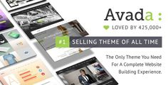 Avada WordPress Theme is the selling theme for 5 years. Buy Avada theme to build your site because it is the Best WordPress Theme.