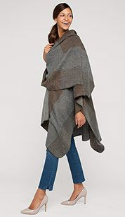 Long poncho from C&A