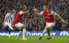 Walcott and Thomas Vermaelen