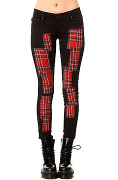 The Plaid Patchwork Jean by Tripp NYC use rep code: OLIVE for 20% off!!