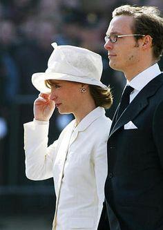 Prince Jaime and Princess Margarita of Bourbon-Parma