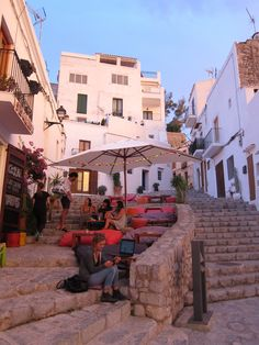 Oude stad Ibiza