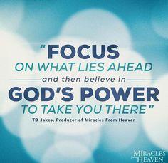Focus on God's Power