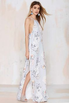 Finders Keepers Check the Rhyme Maxi Dress