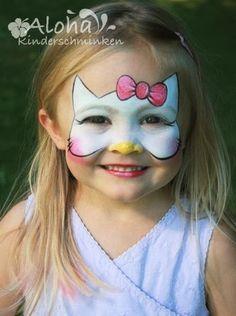 Pintar la cara Hello Kitty en carnavales