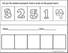 pictures to cut and paste preschool - Google Search