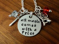 Once Upon a Time necklace-All magic comes with a by TrendsByHeni