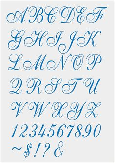 Font Cursivo for Machine Embroidery - pes - jef - xxx - dst - exp - hus - vip - Tattoo Fonts Alphabet, Calligraphy Fonts Alphabet, Cursive Alphabet, Hand Lettering Alphabet, Fancy Fonts Alphabet, Pretty Cursive Fonts, Handwriting Fonts, Script Fonts, Graffiti Lettering Fonts