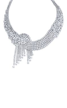 The Cascade Necklace by Farah Khan Fine Jewelry for Preorder on Moda Operandi