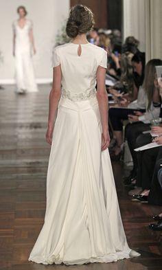 #JennyPackham #Wedding Dress - Passiflora