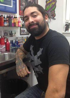 The man who goes by the name Emmanuel Reyes!  #Tattoo #NJ #ScreaminInk #Inked #Ink #Art #SkinArt