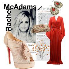 Rachel McAdams, created on #polyvore