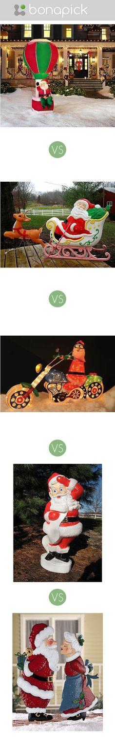 Which #Santa should I buy for my #Christmas yard?  Bonapick.com