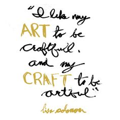 At the Crossroads of Art and Craft With Lisa Solomon