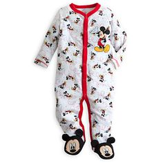 Your WDW Store - Disney INFANT Coverall - Mickey Mouse Coverall for Baby