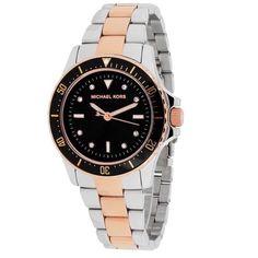 dbc43e09857a5 Michael Kors 2 Tone Tatum Watch Beautiful Rose Gold and Silver Tatum MK  Watch. Brand
