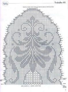 Risultati immagini per schemi centrini a filet