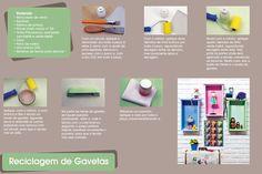 Diario de uma Amadora: DIY- Reaproveitando gavetas velhas