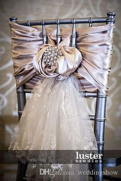 2015 Wedding Chair Covers Supplies Lace Luxury Ivory White Tiers Romantic Personalized DIY Party Sash Decorations Wedding Supplies Decorations Chair Cover Online with 6.95/Piece on Weddingshow's Store | DHgate.com