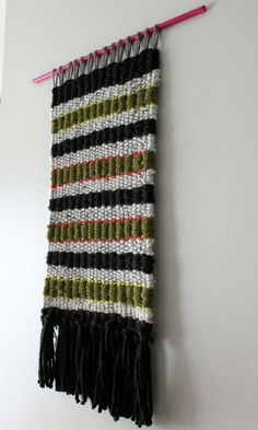 Woven Wall Hanging, Woven Wall Art, Weaving, Fiberart