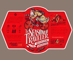 Seasoned Traveler Beer Label