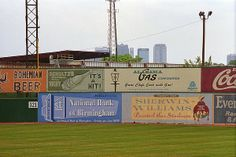 Old Time Baseball - Rickwood Field, Birmingham, Alabama