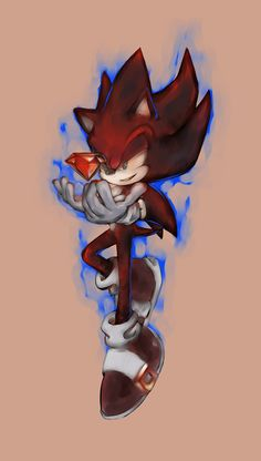 STH: Dark Sonic by asureTOD!! I LOVE THIS DARK SONIC