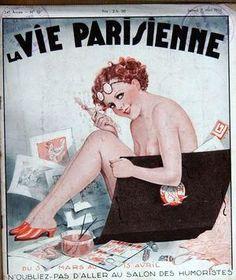 Georges Léonnec (1881 – 1940). La Vie Parisienne, 7 Mars 1936. [Pinned 23-vii-2015]