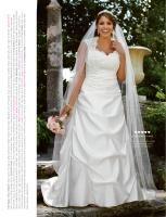 Good look david bridal dress.