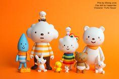 해피라이더의 상반기 소식 (클레이,캐릭터,미니어쳐) : 네이버 블로그 Illustration Artists, Character Illustration, Media Design, 3d Design, Cute Characters, Cartoon Characters, 3d Character, Character Design, Mascot Design