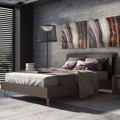 Modloft Grand Platform Bed Size: