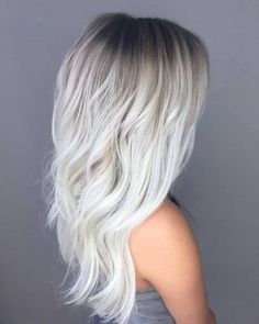 21 Icy Blonde Hair with Dark Roots Colour Ideas 21 Icy Blonde Hair . - 21 Icy Blonde Hair with Dark Roots Colour Ideas 21 Icy Blonde Hair with Dark Roots Col - Ice Blonde Hair, Icy Blonde, Balayage Hair Blonde, Platinum Blonde Hair, Blonde Color, Dark Hair, Brown Hair, Short Blonde, Blonde Hair Dark Roots Balayage