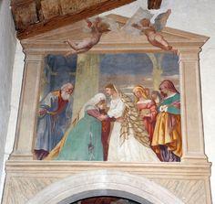 Lorenzo lotto, storie di maria, 1525, visitazione 1.JPG