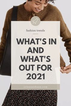 It's the much-anticipated spring 2021 fashion trends post! Let's talk about what styles will be trending this season and which ones are on their way out. Spring Fashion Trends, Spring Summer Fashion, Spring Outfits, Let Them Talk, Let It Be, Fashion For Women Over 40, Night Looks, Womens Fashion, Clothes