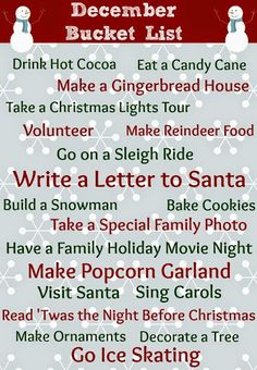 There are a number of fun things to do through the holiday season.  Carols, hot cocoa, snuggling in new PJs while watching The Polar Express.  Growing up I was even lucky enough most winters to go ...