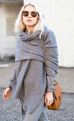 """As the fall season is ending and winter is upon us, scarves are being worn more and more often. However, the typical """"wrap around your neck solely for warmth"""" look is just too basic nowadays. Infinity scarves first joined the scarf family, but now..."""
