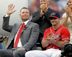 Chipper and Dan Uggla...doesn't get much better than that!!!