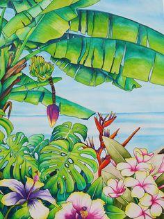 Going Bananas In Mauritius Painting